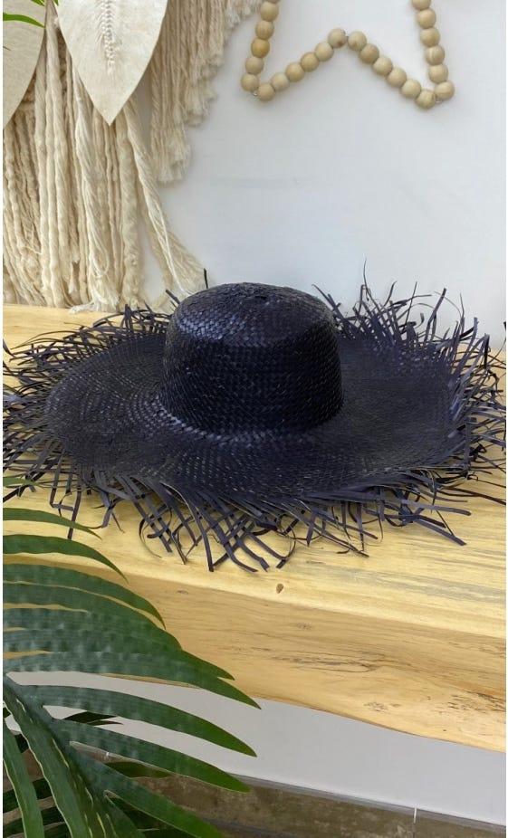 Chapeau Sanouk Noir