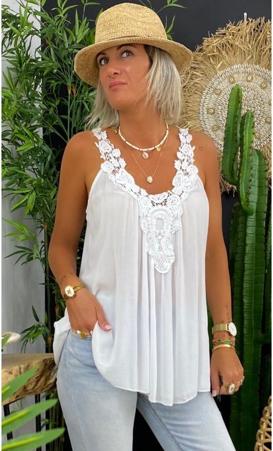 Tunique Paloma Blanc