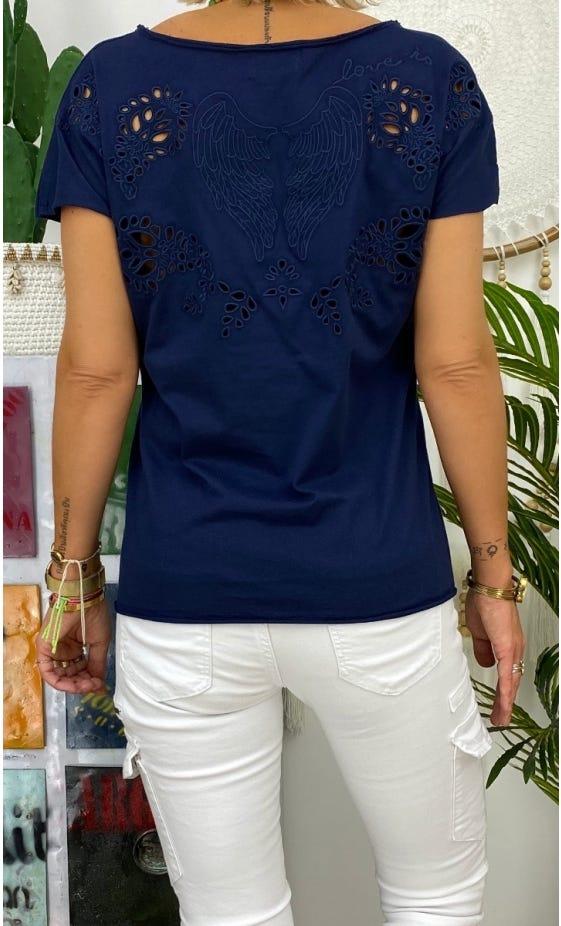 T-Shirt Anton Bleu Marine Dream