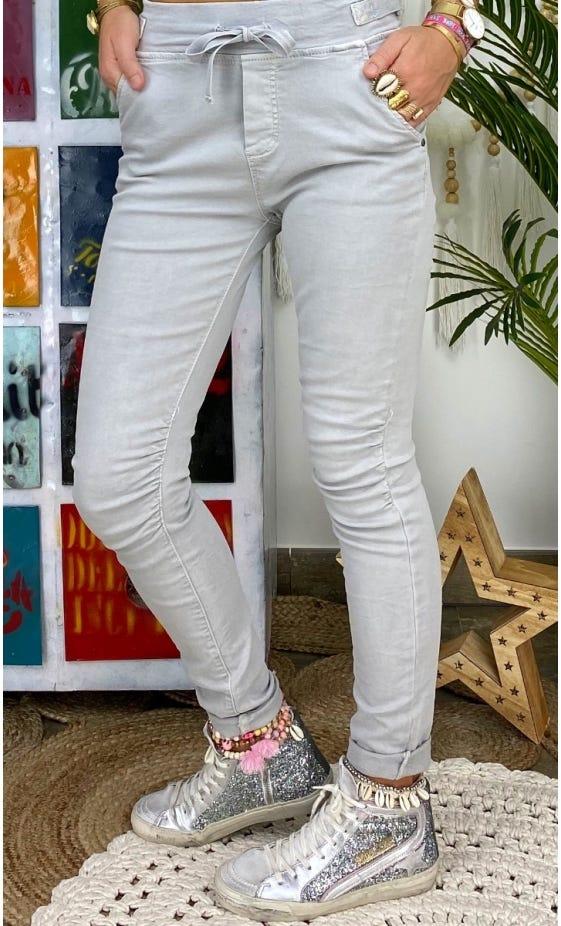 Pantalon Slim Terence Gris Clair