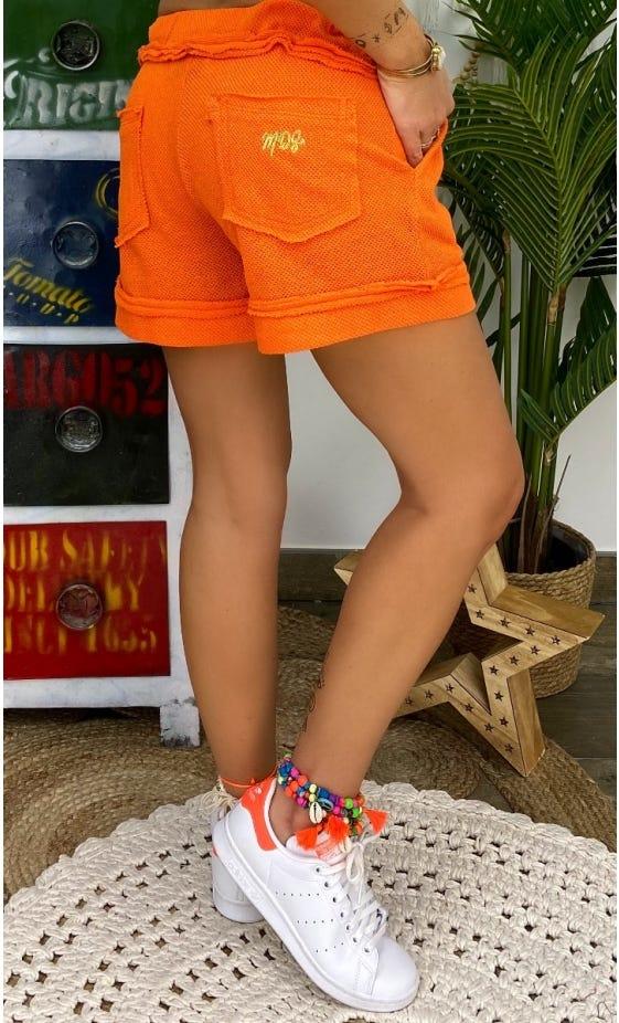 Short Caleb Orange