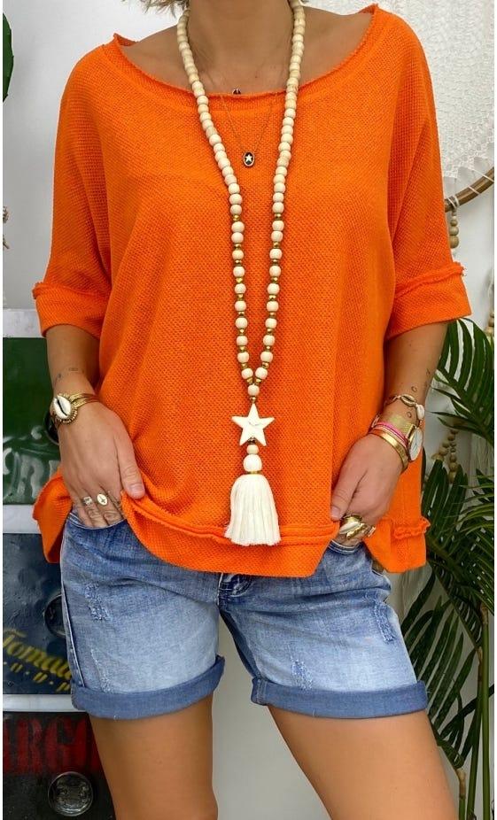 Tunique Mélina Orange