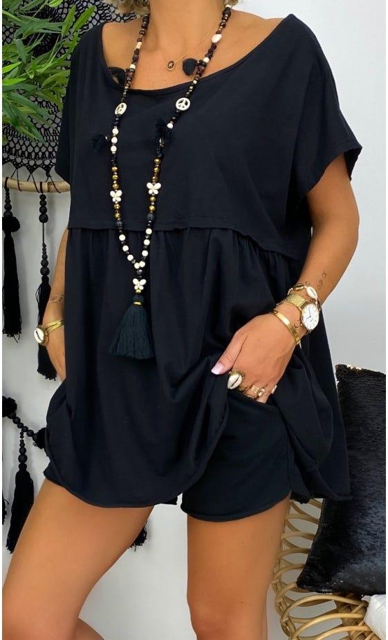 Tunique Louane MC Noir