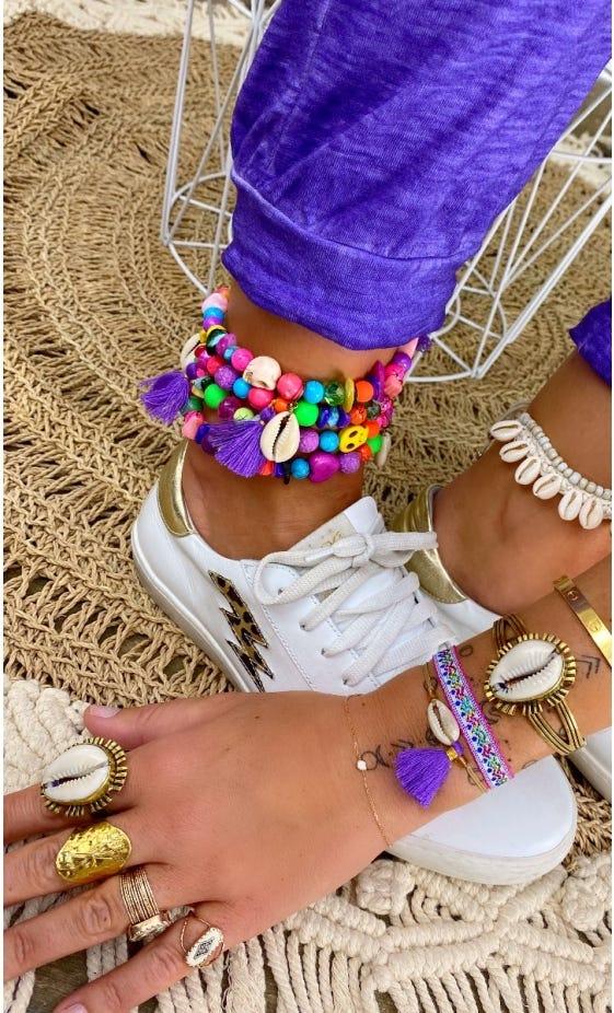 Bracelet Adem Violet