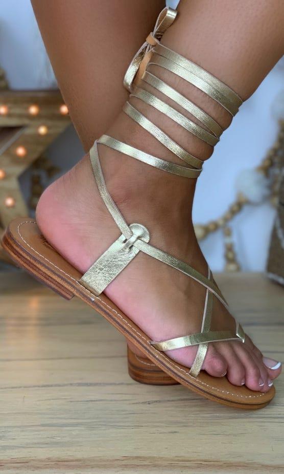 Sandales Nessa Or