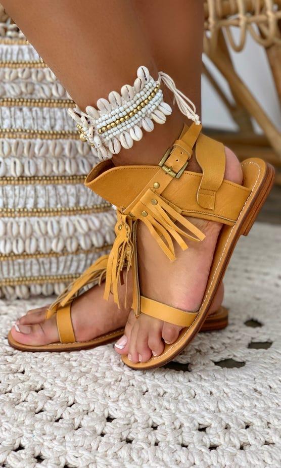 Sandales Matilda Camel