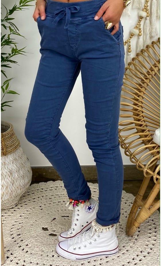 Pantalon Slim Terence Bleu Jean