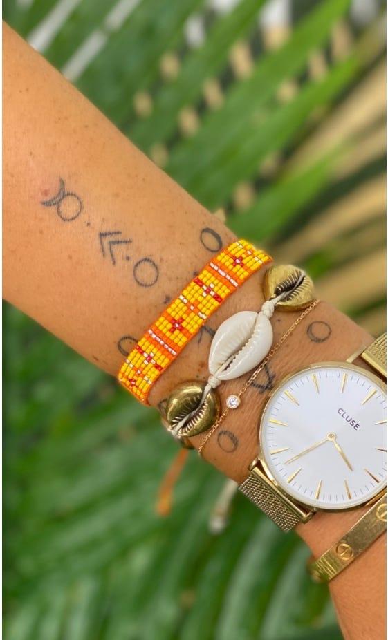 Bracelet Siam Orange