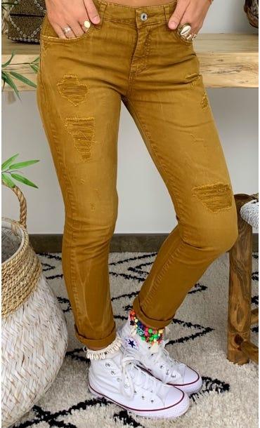 Pantalon Hugo Camel