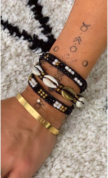 Bracelet Indra Noir