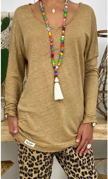 T-Shirt Mylan Camel