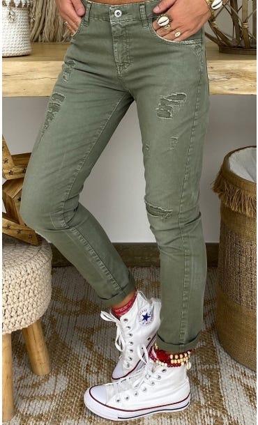 Pantalon Hugo Kaki