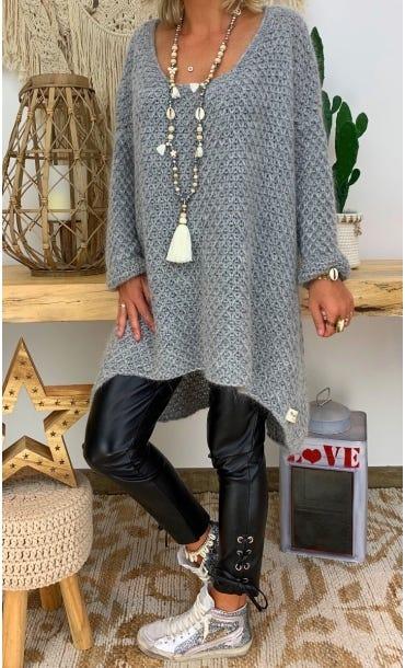 Petite Robe Pull Joshua Gris