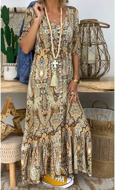 Robe Lola Camel Keema