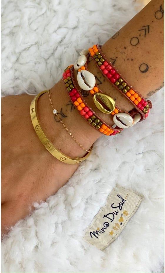 Bracelet Indra Orange