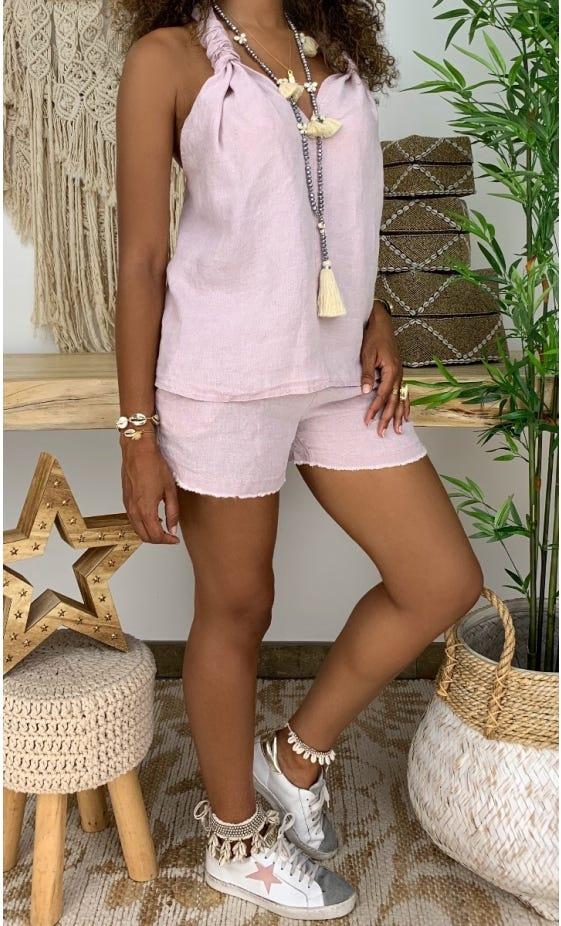 Tunique Jasmine Rose Nude