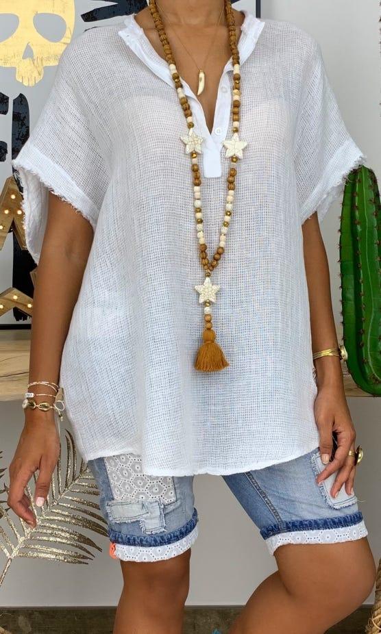 Tunique Asma Blanc