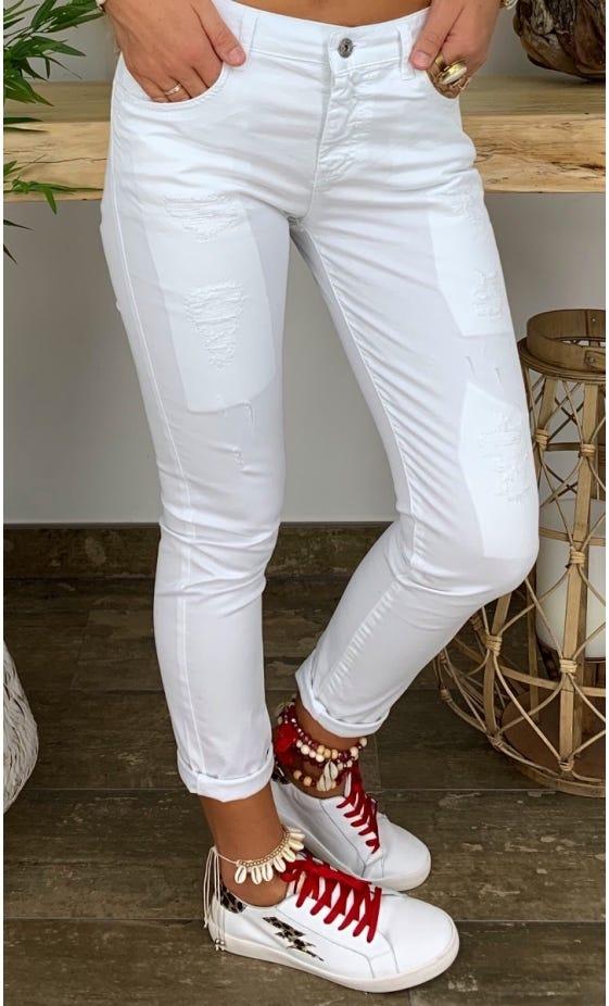 Pantalon Hugo Blanc