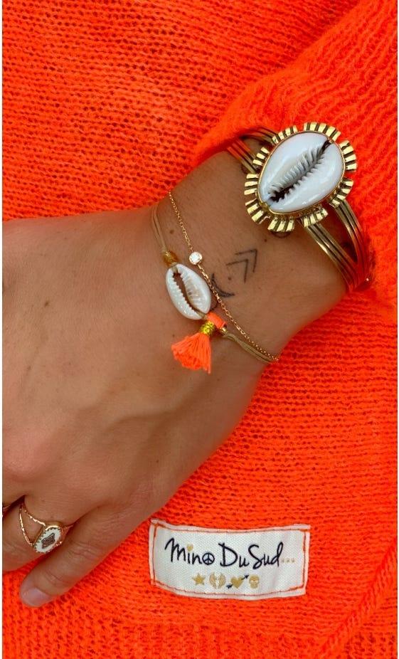 Bracelet Adem Orange Fluo