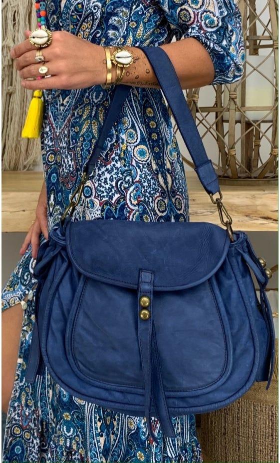Sac Livourne Bleu Jean