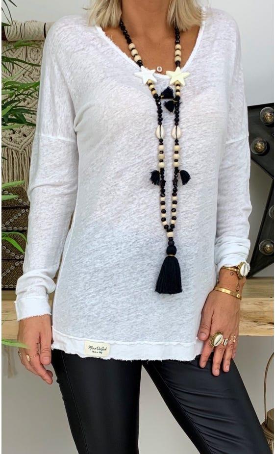 T-Shirt Mylan Blanc