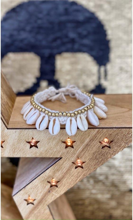 Bracelet De Cheville Kaili Or