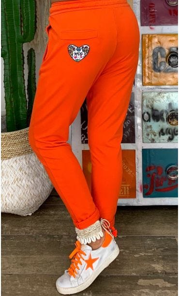 Jogg Tom Sweat Fin Orange