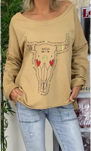 Sweat Matisse Camel Buffalo Love
