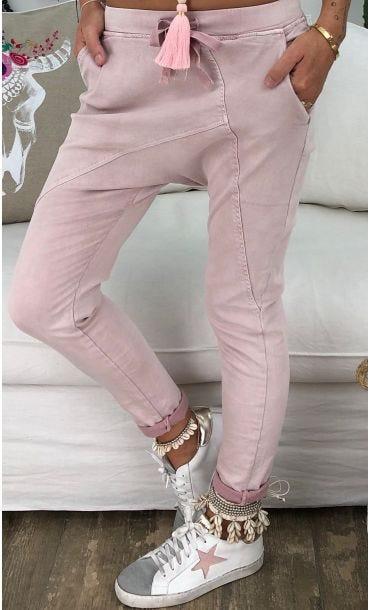 Pantalon Sarouel Luigi Rose