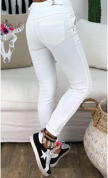 Pantalon Tyméo Blanc