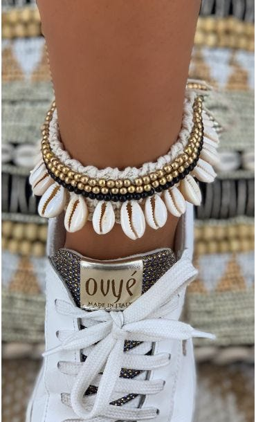 Bracelet De Cheville Rama Noir
