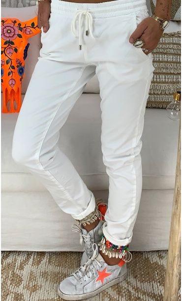 Pantalon Emil Blanc Cassé