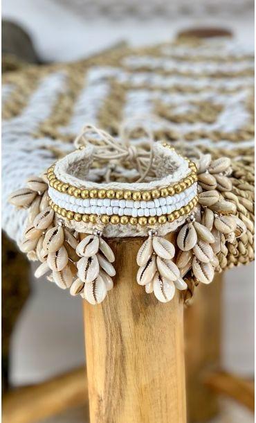 Bracelet De Cheville Wipa Blanc