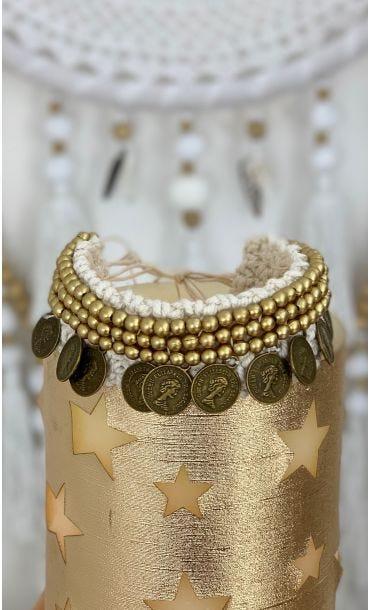 Bracelet De Cheville Hansa Or