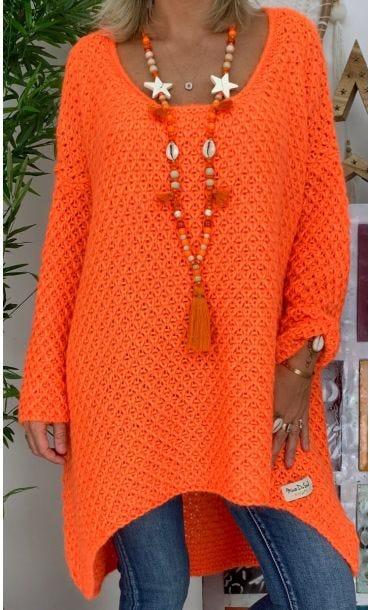 Sautoir Kenny Orange