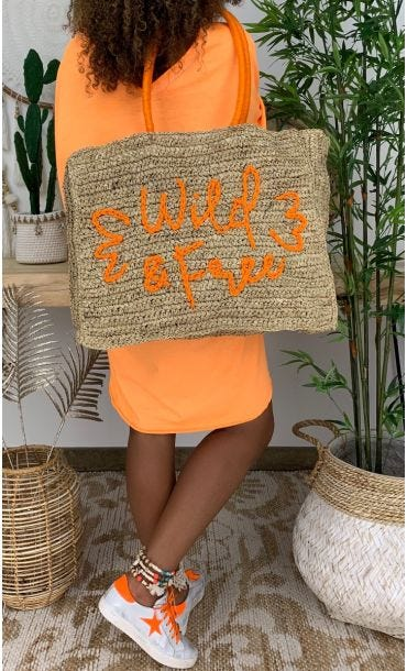 Sac Changu Wild & Free Orange