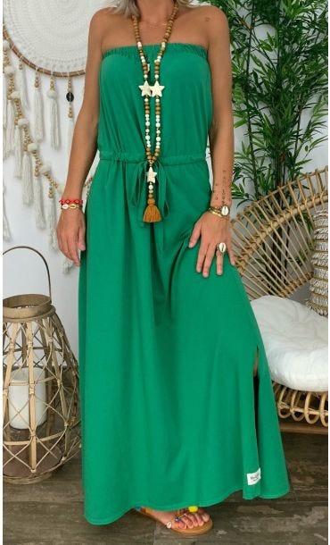 Robe Brooke Vert