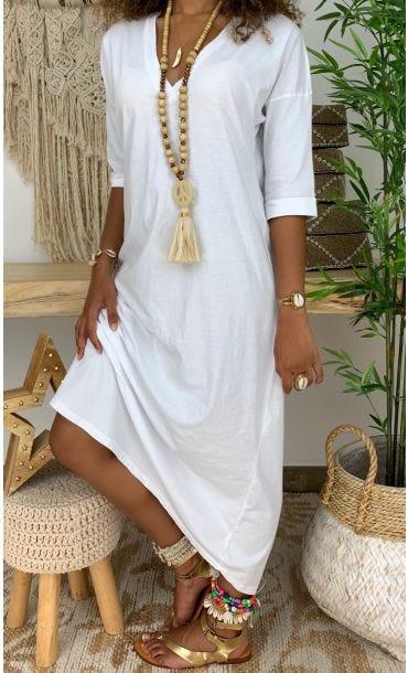 Robe Kayna Blanc